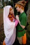 Robin Hood and Maid Marian by VandorWolf