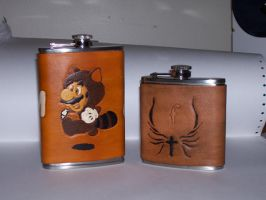 Flasks - Front by dragoon811
