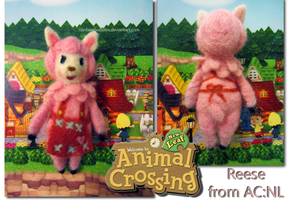 Reese Needlefelt from Animal Crossing: New Leaf by Rainbowbubbles