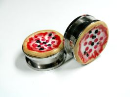 Pizza Pie Plugs by kawaiibuddies