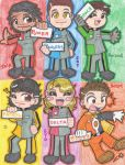 Chibi Power Rangers SPD RULEZ by DaMee-Momma