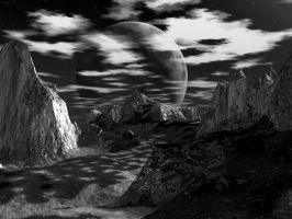Moonscape 1 by AzDude