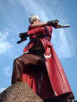 Dante cross the Gun by DanteNeverCry