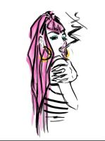 Brooke Candy Doodle by THEkidNurCLOSET
