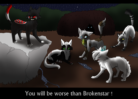 You will be worse than Brokenstar ! KIRIBAN PRICE by Niutellat