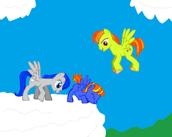 Family Flying by NetGreen123
