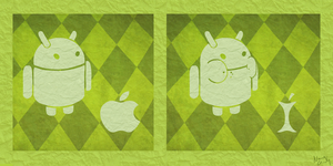 Android vs. Apple by Nadily