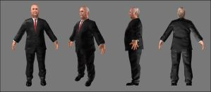 DrugLord 1 ModelSheet in Unity by grico316