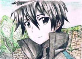 Kirito Sword Art Online by Black33x