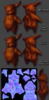 Demonic low poly by SophieHoulden