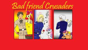Bad Friends Crusaders by CookuBanana