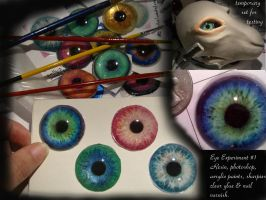 Eye experiment. . by pattasy