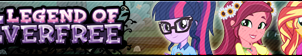 Legend of Everfree -Fan button by SunsetMajka626