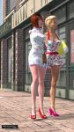 The girls go shopping by tommyk66