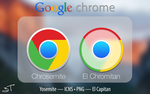 Chrome icon - El Capitan|Yosemite Style by TraceDesign