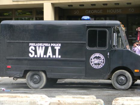 S.W.A.T. van from world war Z by hollytabatha