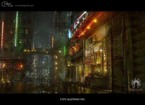 Chinese Alley by inetgrafx