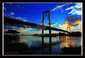 Barito Bridge by kevinkane