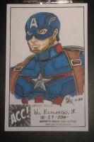 Captain America Avengers Age of Ultron practice by Wilco5
