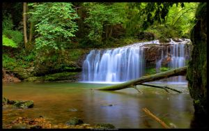 Waterfall 3 by cgphotopro