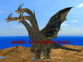 Keizer Ghidorah Coming soon to MMD (canceled) by Gorosaurus65