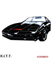 Knight Rider 2600 Label Color2 by Atariboy2600
