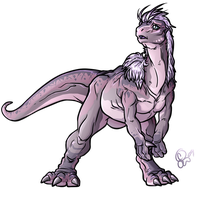 Arc - Iguanodon by BLACK-HEART-SPIRAL