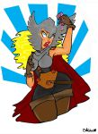 Thor Selfie by SukiMitchell