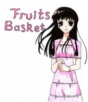 Fruits Basket Title: colored by bandgirlrocksdeworld