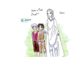 Bilbo and Frodo:- Woooow! by Rina-from-Shire