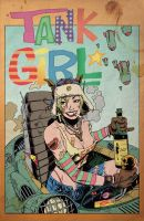 Tank Girl Alec Fritz colors by stevescott