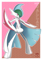 Mega Gallade by Ac-Solanis