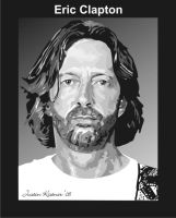 Eric Clapton Vector SAMPLE by justin33k