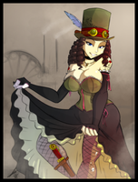 Steampunk Lady by Sexual-Yeti