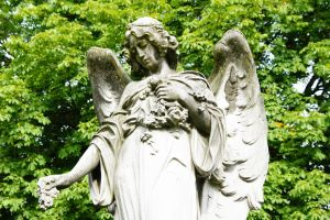 Angel of flowers by Heurchon
