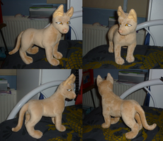 Pharaoh Hound plush by goiku