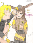 Yang and Velvet-Beautiful by LuckyDragonfly