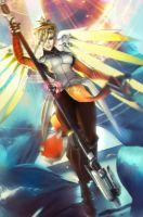 Till Valhalla - Mercy [Overwatch] by LaceWingedSaby