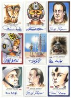 SW ILLUSTRATED - Sketchagraph Cards by Erik-Maell