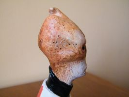 Mordin Solus Finished - Head (profile) by blinksda92