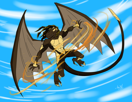 Kahlain, Dragon of the Valley. by NoXV