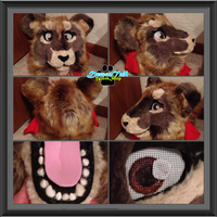 Sehkmet Lioness Head -FOR SALE- by DemonTailWorkshop