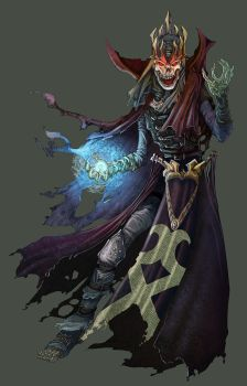 DnD4e: Lich by UdonCrew