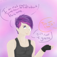 Cali's Hair uvu by Cabooselover