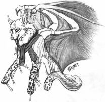 Demon - Sketch by xDember
