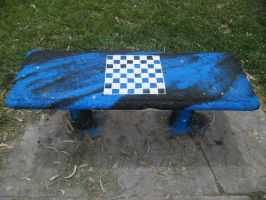 Space Seat with chessboard by Johnny-Aza