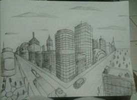2 point perspective by Ricdanielle