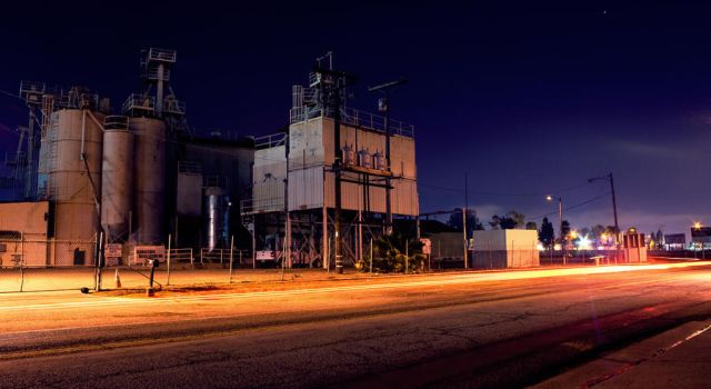Industrial Night by okasha