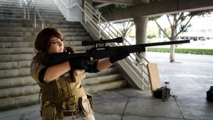 Comikaze: Piers Nivans (RE6) 'Roger that.' by AngelicCosplay