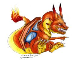My Little Charizard by LoveandBonestm